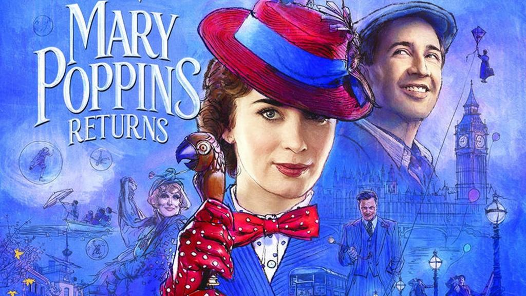 Cô giúp việc có mọi phép màu đã quay trở lại trong 'Mary Poppins Returns'